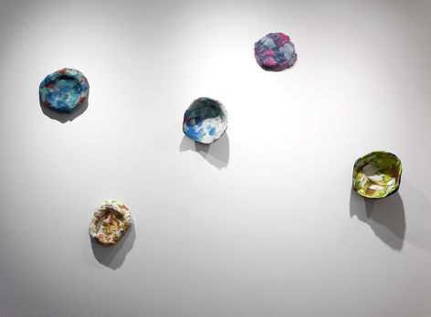 Rachael Gorchov painting sculpture installation view
