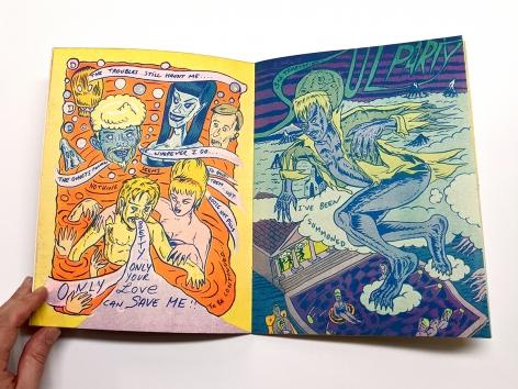 Sandlin belfaust comic book