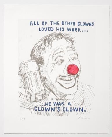 David Kramer - Clown, 2019