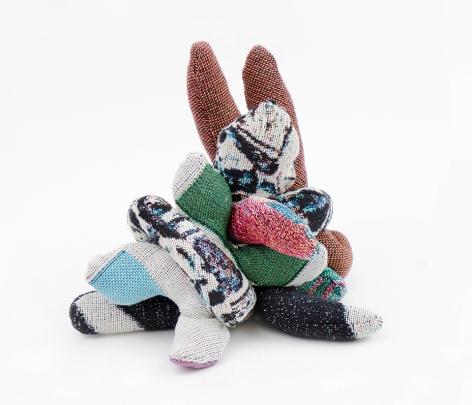 david smith american dream fragment fabric sculpture