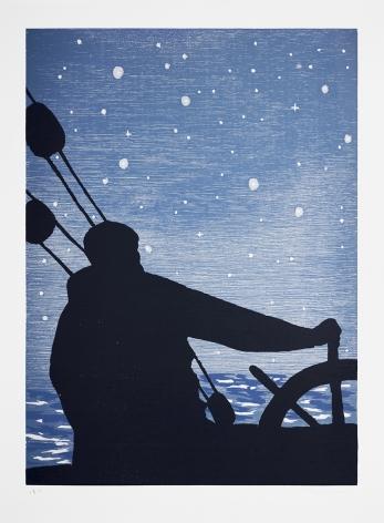 Richard Bosman Navigator, 1993 Woodcut