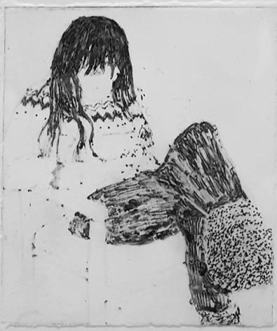 Elin Rødseth Networker (No. 7), 2018 Photopolymer print on paper