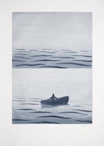 Richard Bosman Fog Bank, 1988 Spitbite and aquatint