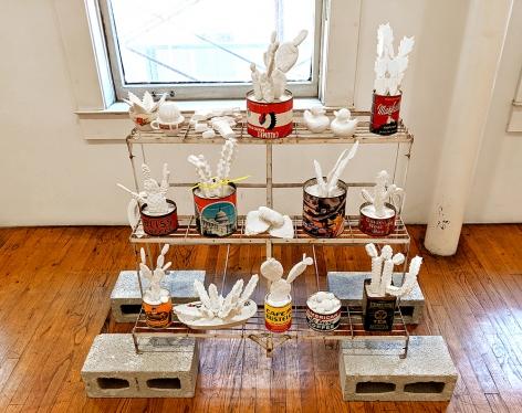 mark mann curio shrine sculpture collection