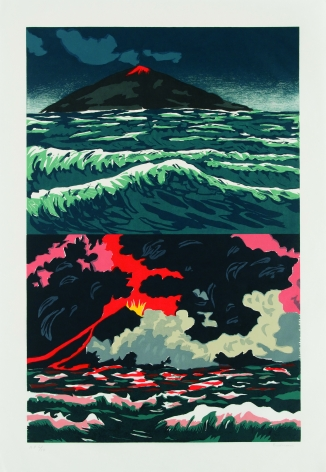 Richard Bosman - Volcano, 1989