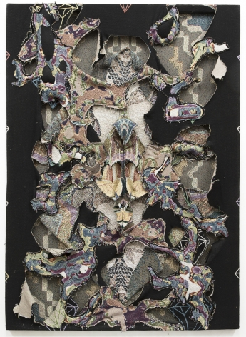 david smith diamond decay fabric sculpture