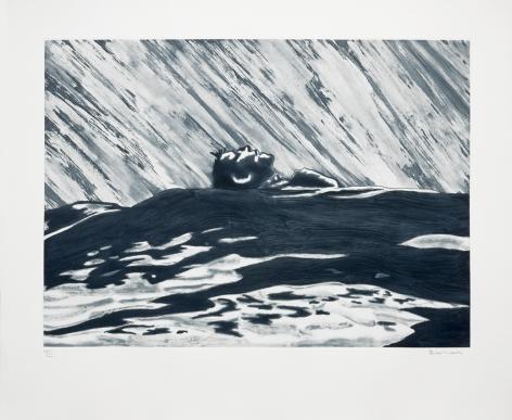 Richard Bosman Adrift I, 1988 Softground, spit bite and whiteground etching