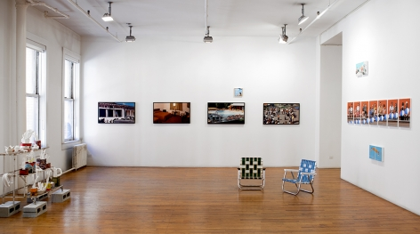 Mark Man exhibition installation 1