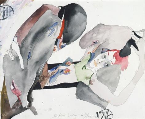 Horst Janssen, Erotica, 15/03/1992