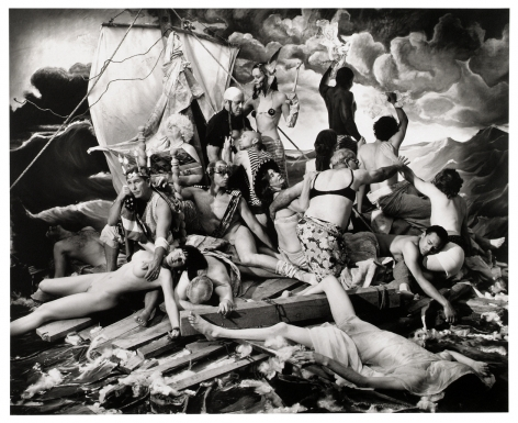 Joel-Peter Witkin, The Raft of George W. Bush, New Mexico, 2006
