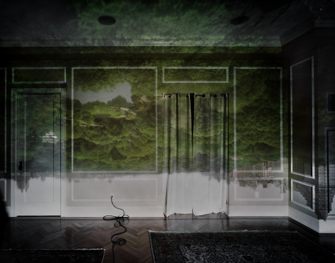 Abelardo Morell, Camera Obscura: View of Central Park Looking North, Summer, 2008