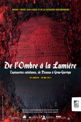 De L'Ombre À La Lumière, Tapisseries Catalanes, De Picasso À Grau-Garriga; Museu de Sant Cugat (Spain); Centre cultural Caixa Terrassa (Spain); Musée Jean-Lurçat et de la tapisserie contemporaine, Angers (France), 2009-2010.