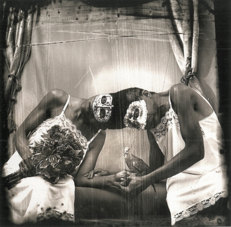 Joel-Peter Witkin, Siamese twins, New Mexico, 1988