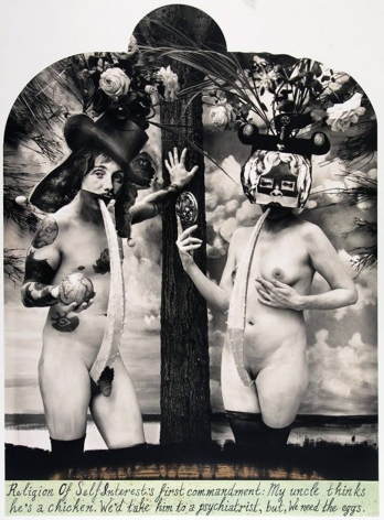 Joel-Peter Witkin, Religion of Self Interest, New Mexico, 2013