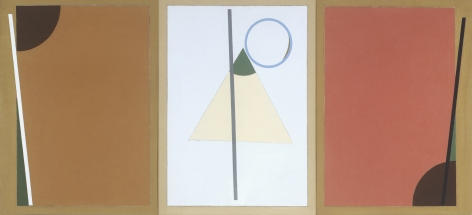 Eduard Steinberg, Composition May Paris Triptych, 1993