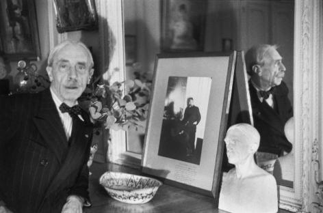 Henri Cartier-Bresson, « Paul Valery, 1945 »