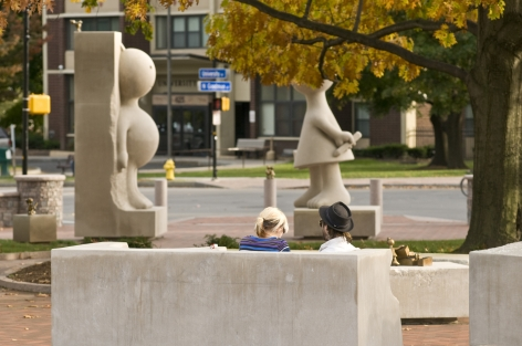 Creation Myth, Centennial Sculpture Park, Memorial Art Gallery, University of Rochester, Rochester, NY