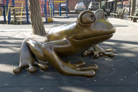 Large Coqui, PS 20, New York, NY