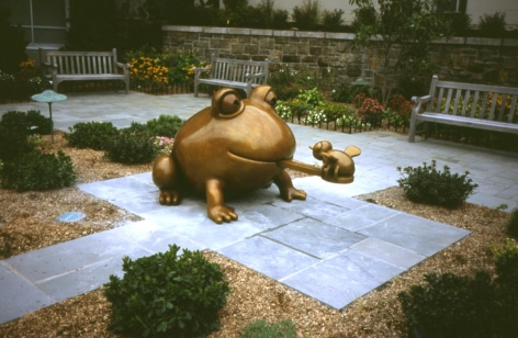 Large Frog & Bee, Montefiore Children's Hospital, Bronx, NY