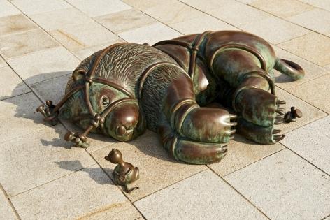 Lion & Mouse, Museum Beelden aan Zee, Scheveningen, The Netherlands