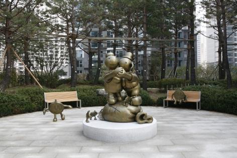 Byuksan Blooming Apartment Complex, Seoul, Korea