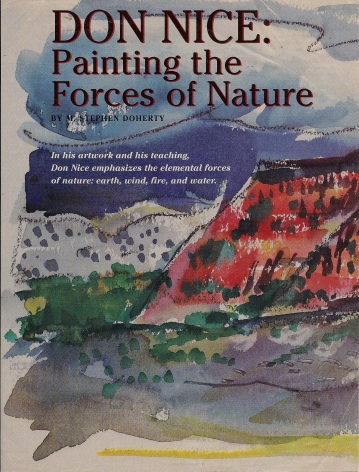 Don Nice: Painting the Forces of Nature
