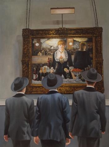 Marc Dennis_Three Jews Walk Into a Bar,2014 (40 x 30 inches) Front Image_Casterline Goodman Gallery.jpg