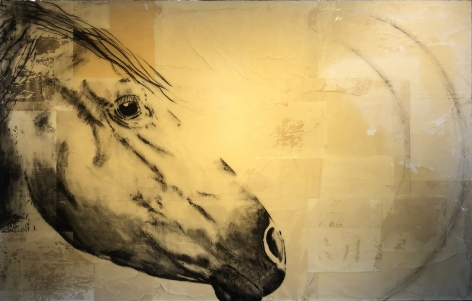 Danielle Procaccio-Courage, 2013 (45 x 70 inches)_Casterline Goodman Gallery