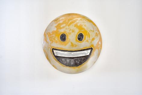 Nick Moss-Joyful, 2019 (12 inch diameter)_Casterline|Goodman Gallery