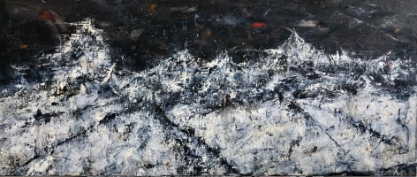 Mark Acetelli-Strength Through Solitude, 2018 (84 x 36 inches)_ Casterline|Goodman Gallery.jpg