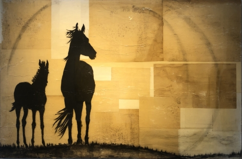 Danielle Procaccio-Peaceful, 2013 (45 x 70 inches)_Casterline Goodman Gallery.jpg