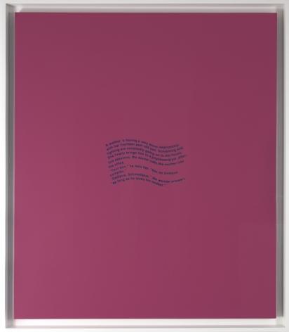 "Richard Prince_Oedipus Complex, 1991 (56"" x 48"") Framed - Casterline|Goodman Gallery"