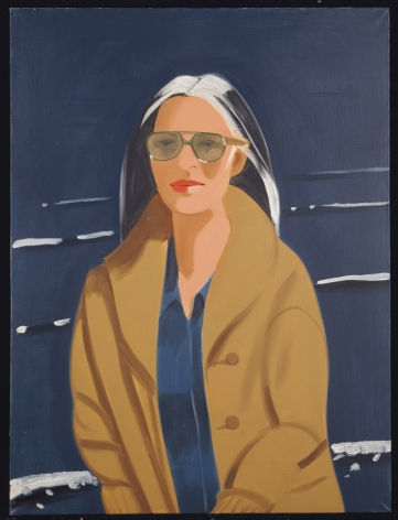 Ada in the Sun, 1994, Oil on canvas