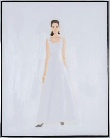 "Alex Katz_Wedding Dress, 1992 (20"" x 16"") Framed - Casterline|Goodman Gallery"