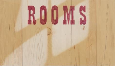 "Ed Ruscha_Rooms, 1996 (16"" x 28"")-Casterline|Goodman Gallery"