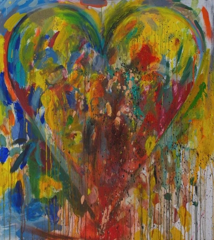 Jim Dine - The March Towards Alder