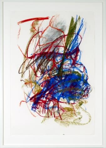 "Joan Mitchell_Untitled, 1991 (48"" x 31.5"") Framed - Casterline|Goodman Gallery"