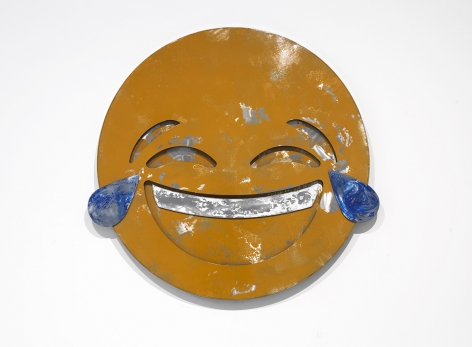 Nick Moss-Tears of Joy, 2016 (36 inch diameter)_Casterline|Goodman Gallery
