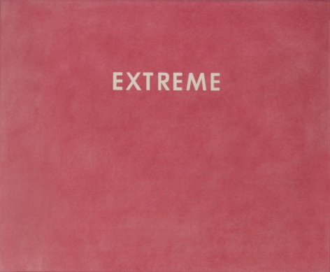 Ed Ruscha_Extreme, 1973 - Casterline|Goodman Gallery