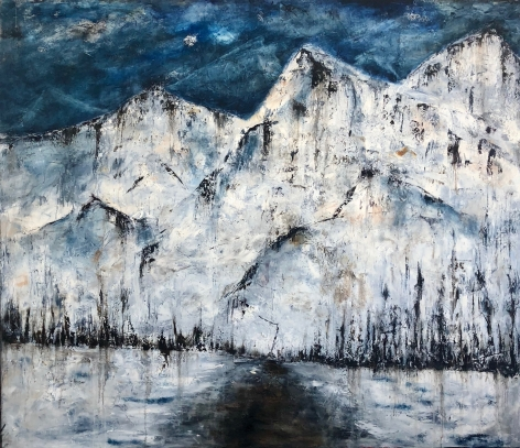 Mark Acetelli-Infinity Bliss, 2018 (70 x 60 inches)_ Casterline|Goodman Gallery.jpg