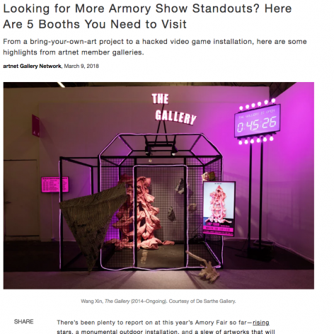 Artnet News: Looking for More Armory Show Standouts? Here Are 5 Booths You Need to Visit