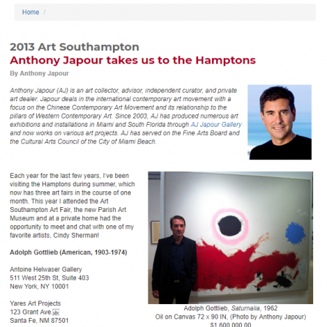 Social Miami: Anthony Japour takes us to the Hamptons