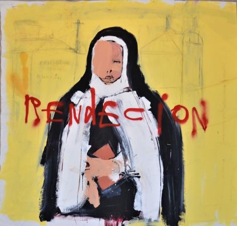 Rdención by Louis Carreon at Hg Contemporary art gallery Madrid