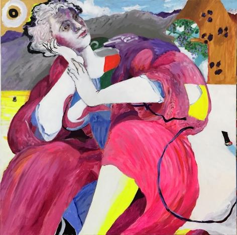 Ariana Liberándose de Teseo from Visto, no vista by Carlos Franco at Hg Contemporary