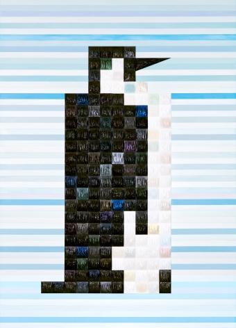 Penguin by Zhenya Xia at Hg Contemporary Art Gallery