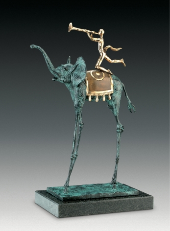 Triumphant Elephant from The Dalí Universe at Hoerle-Guggenheim Contemporary