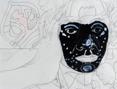 Intercesora by Carlos Franco at Hg Contemporary art gallery