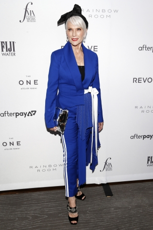 Maye Musk at Fashion Media Awards x Hg Contemporary