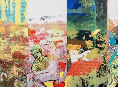 Hermes y Afrodita by Carlos Franco at Hg Contemporary art gallery