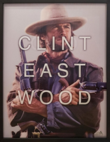 Clint Eastwood by Massimo Agostinelli at HG Contemporary founded by Philippe Hoerle-Guggenheim